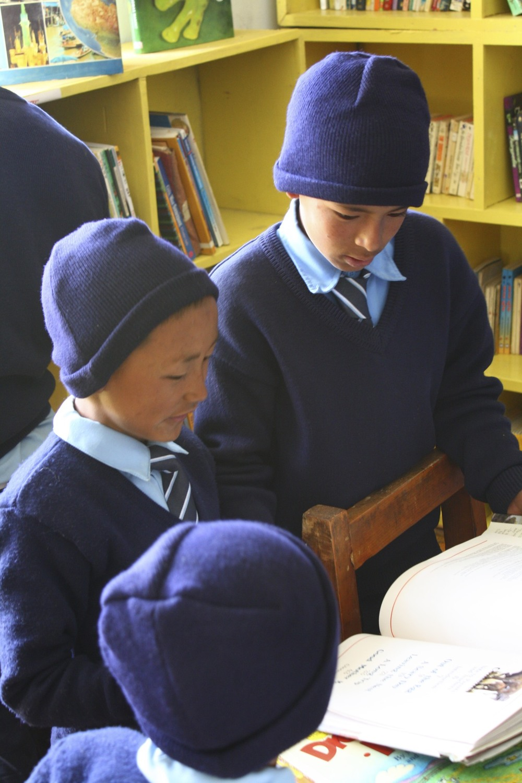 Khumjung Magic Yeti Library, 2011