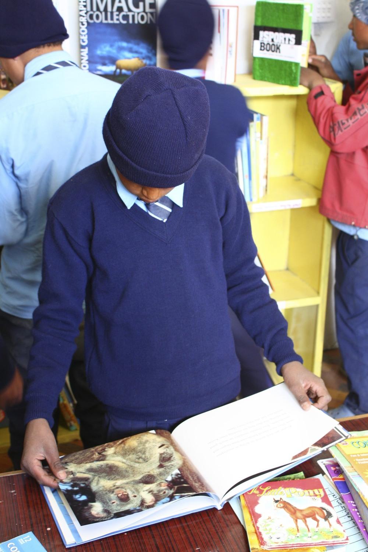 Magic Yeti Library, 2011, Annapurna Region, Nepal.