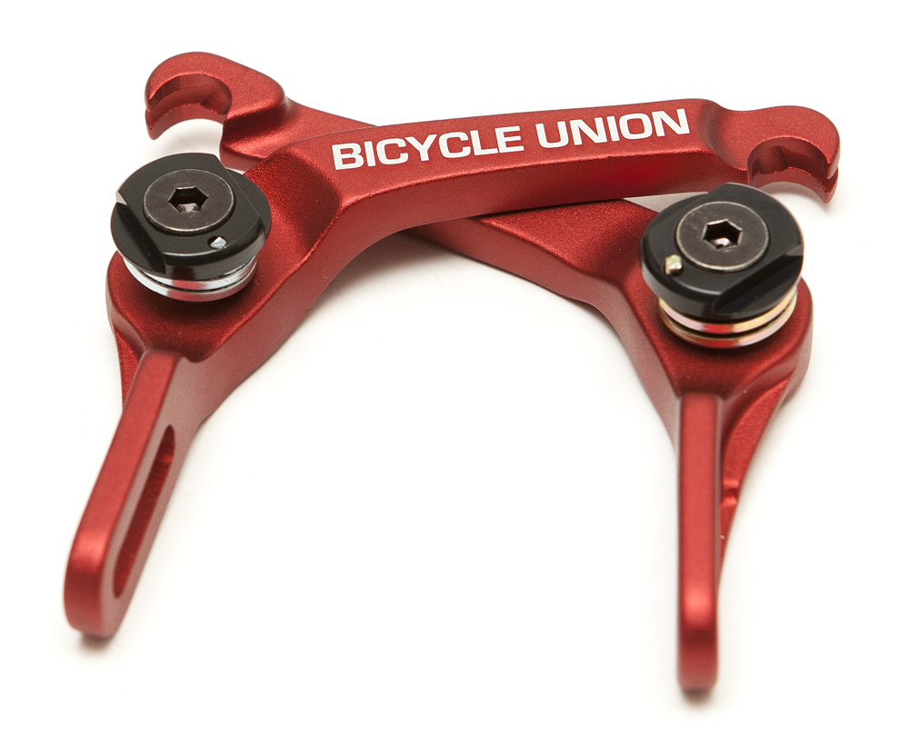 BICYCLE UNION CLAW BRAKE FORGED 6061 ALLOY WITH LOW STACK HEIGHT WEIGHT 7.3 OZ / 207 GMS