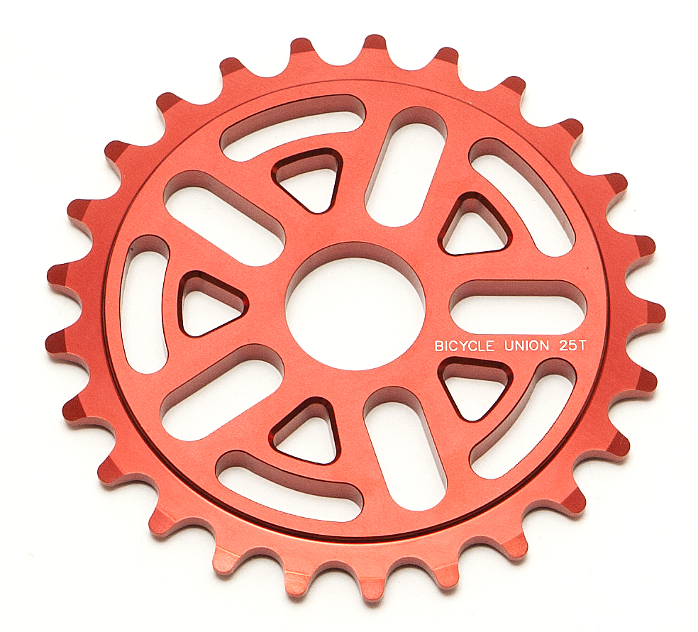 New Bicycle Union V sprocket 6mm 7075 sprocket Nice lite weight and slick looking 5 arm sprocket