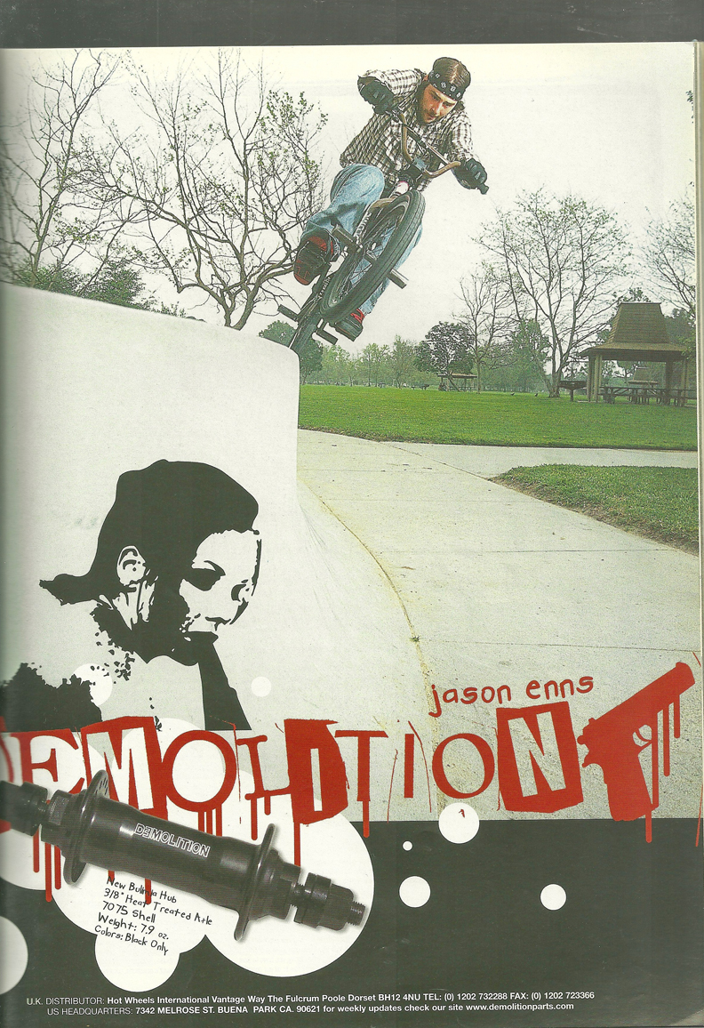 Jason Enns Demolition ad
