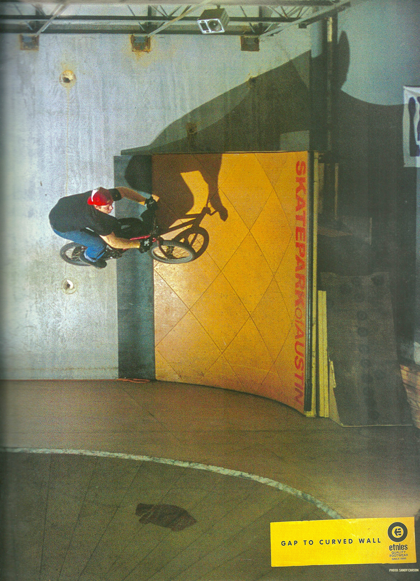 Taj Etnies wall ride ad
