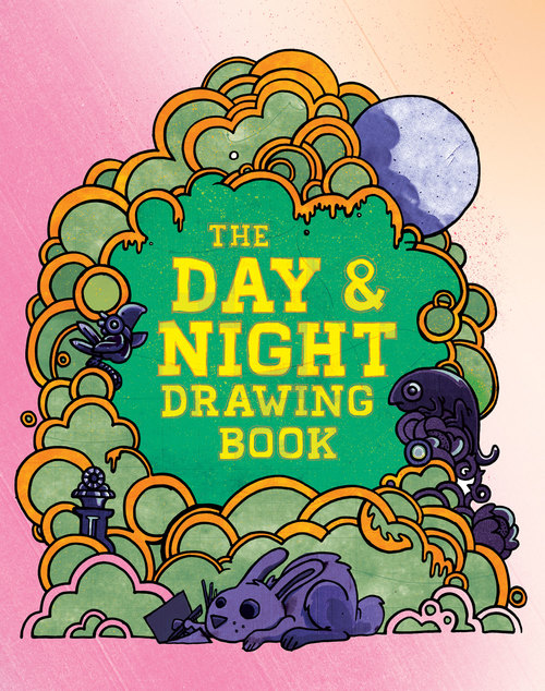 The Day and Night Drawing Book is a collection of creative activities for some rainy day fun. It was inspired by the young artists I meet in my workshops. Download the PDF for free or buy the book here.
