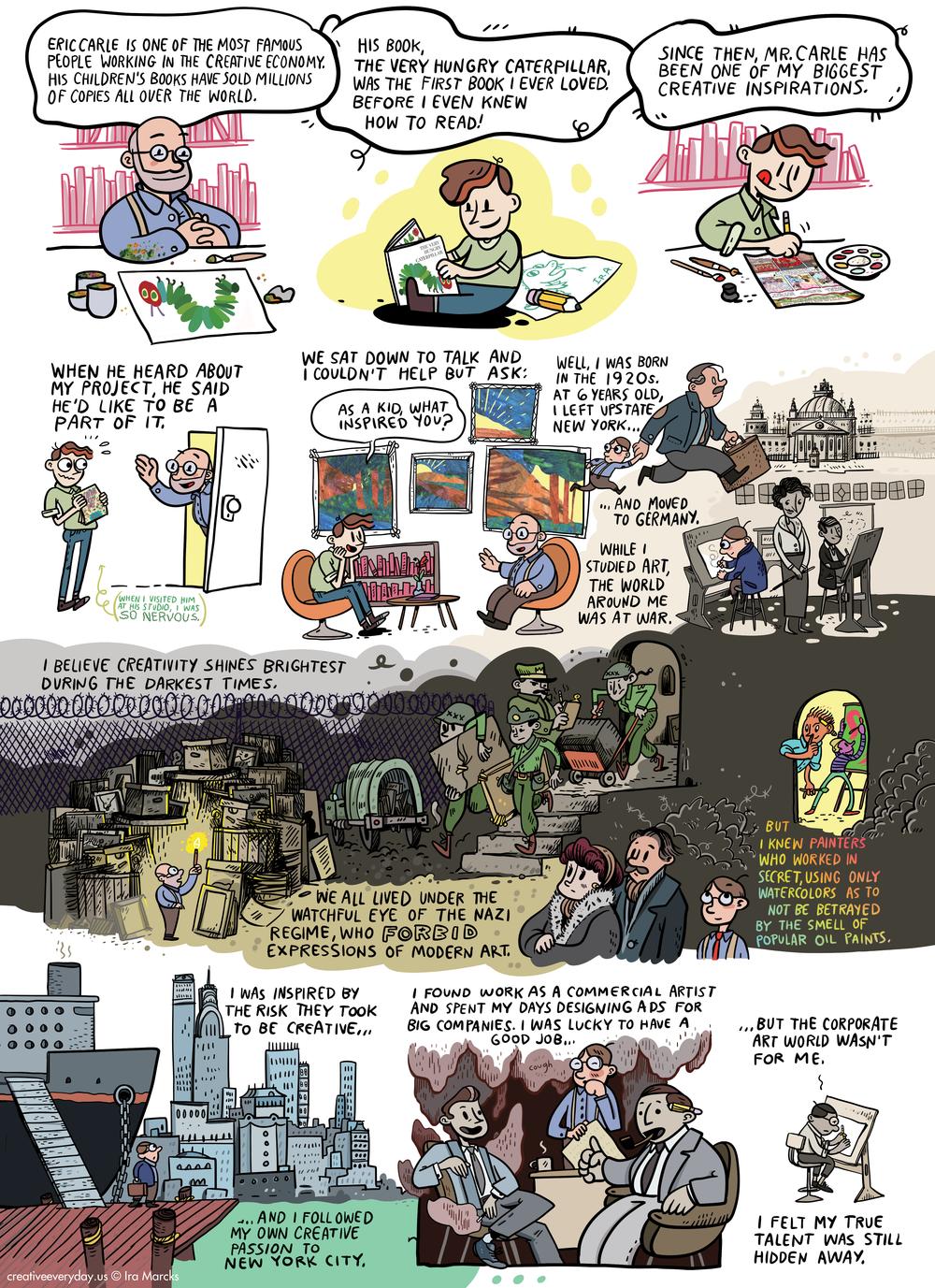 Eric / Illustrator (page 1)