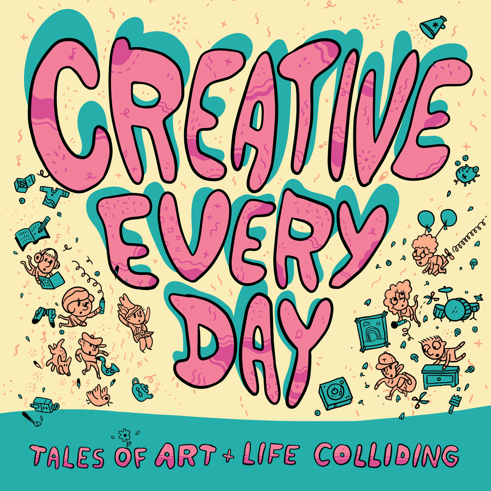 Creative Everyday is a collection of true tales about the triumphs and troubles of pursuing a creative career. Each comic is based on a story shared by a creative professional. Have a story to tell? Share it here!