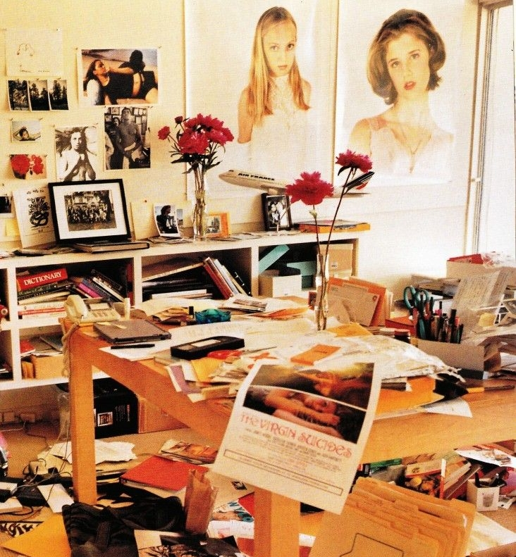 Sofia Coppola's desk (199?)
