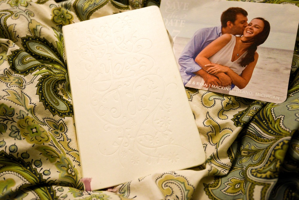 I live and die by my  Moleskine Wedding Journal  when it comes to anything wedding related- I may carry it with me everywhere.