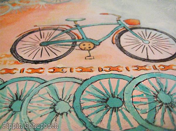 Blue Bike Pippin Schupbach