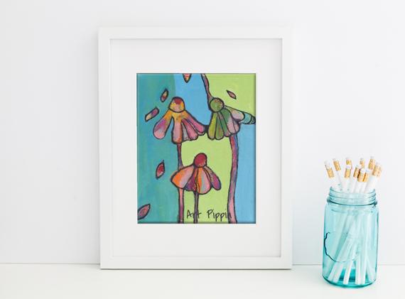 'Petals' Print
