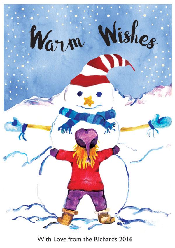 Snowman Hug Pippin Schupbach