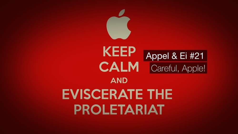 Appel & Ei #21 - Careful, Apple! - Mit Tim Krauss undChristian Heinke