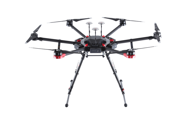 OUR AIRCRAFT - Our aircraft is a DJI Matrice 600 Pro hexacopter which is ideal for covering large areas due to its long flight time and autonomous grid capture.  This aircraft is also well suited for stationary work, such as bridge and tower inspections, which may be performed manually by our pilot.