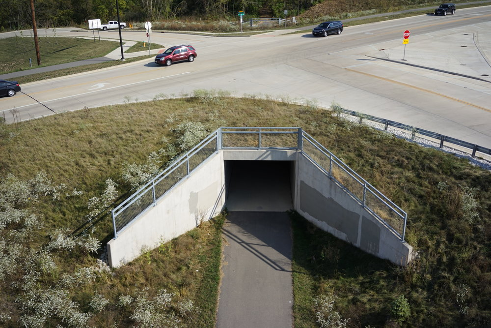 Multi-Use Path Tunnel