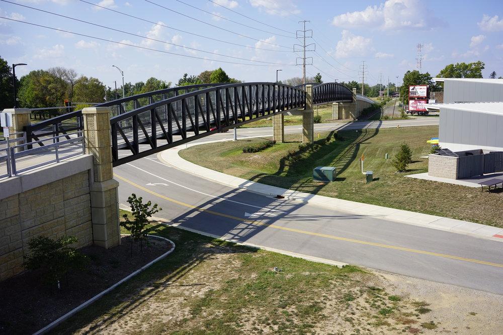Multi-Use Path Pedestrian Bridge