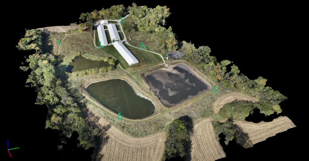 Swine Facility Digital Surface Model