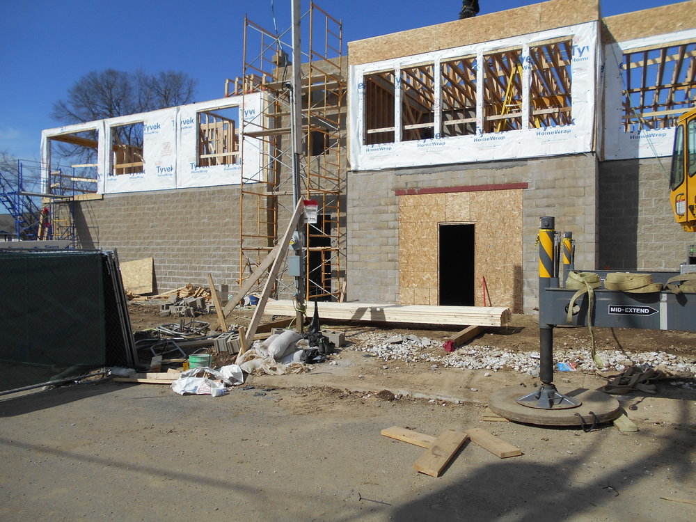 7 Stud walls going up (2nd story).JPG