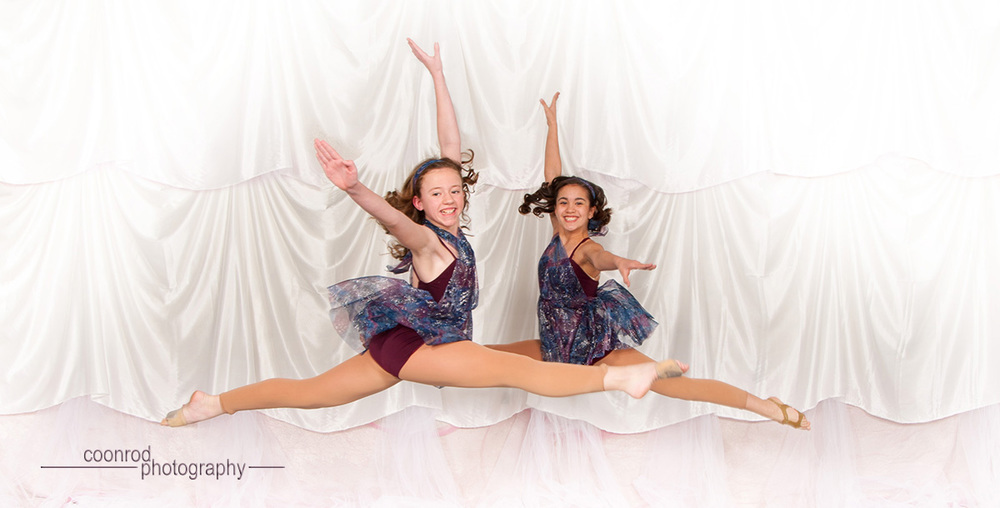 Alexis & Kenzie... Flying.