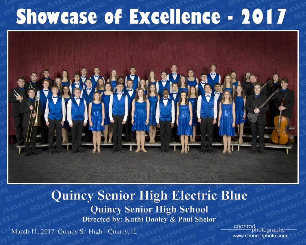 QHS Show Choir at Showcase of Excellence - 2017