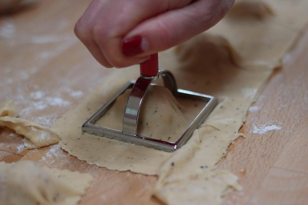 Ravioli Cutting