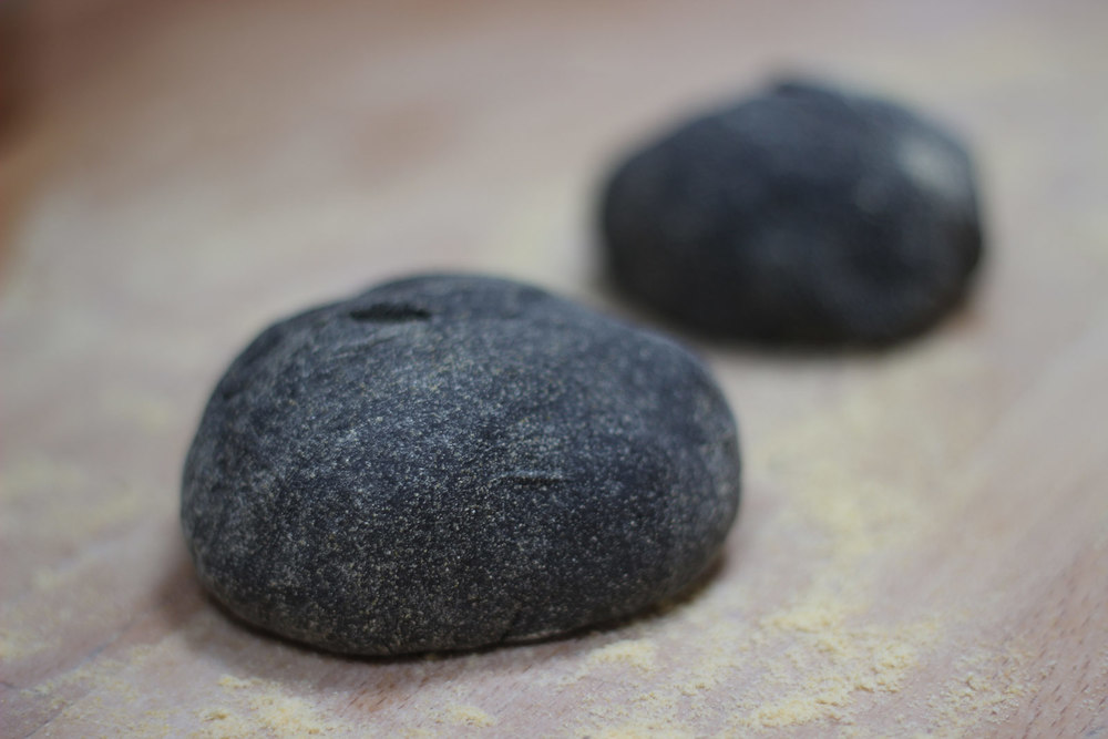 Squid Ink Dough
