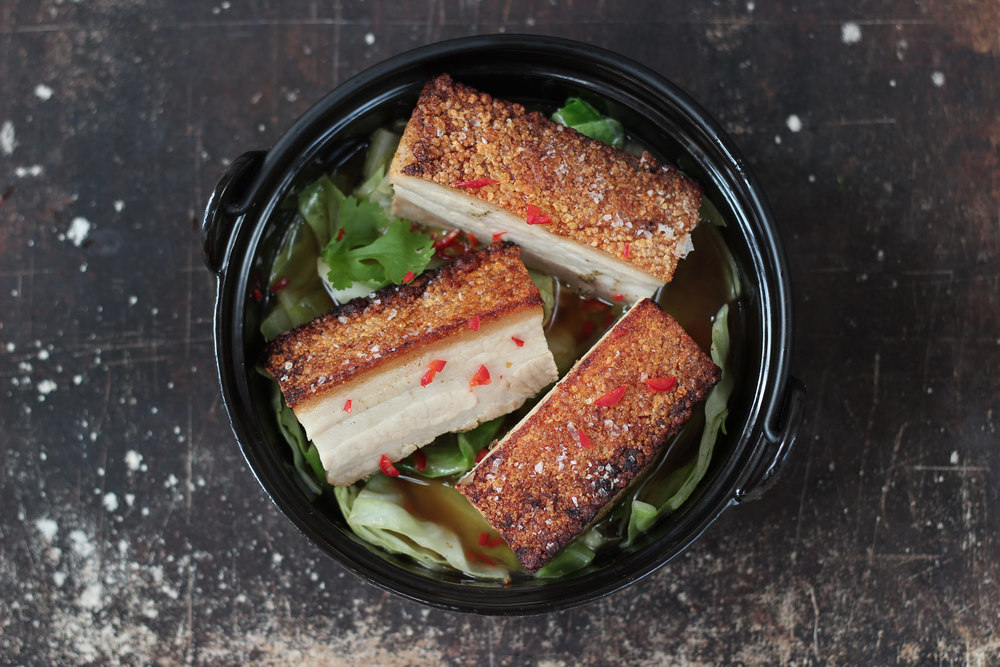 how to make pork crackling crispy