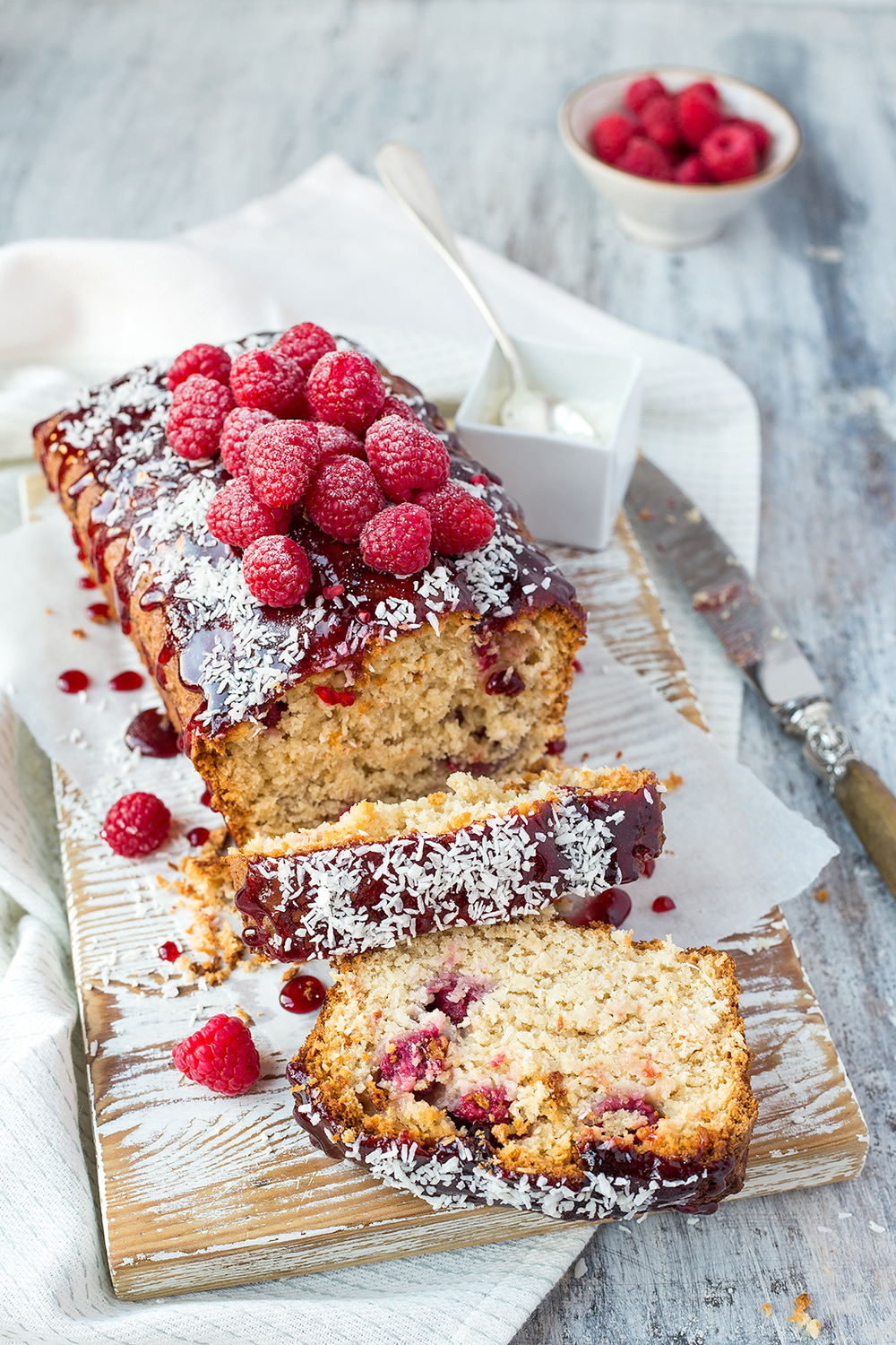 Raspberry and coconut cake — The Kitchen Alchemist