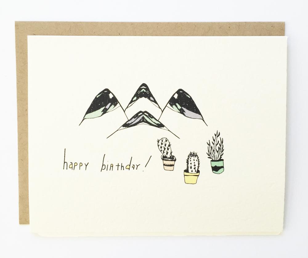 Cactus Mountain Birthday