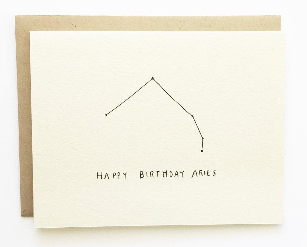 Aries Constellation Birthday