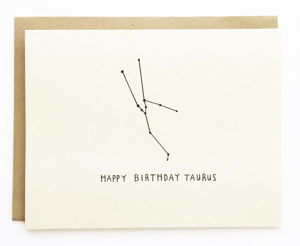 Taurus Constellation Birthday
