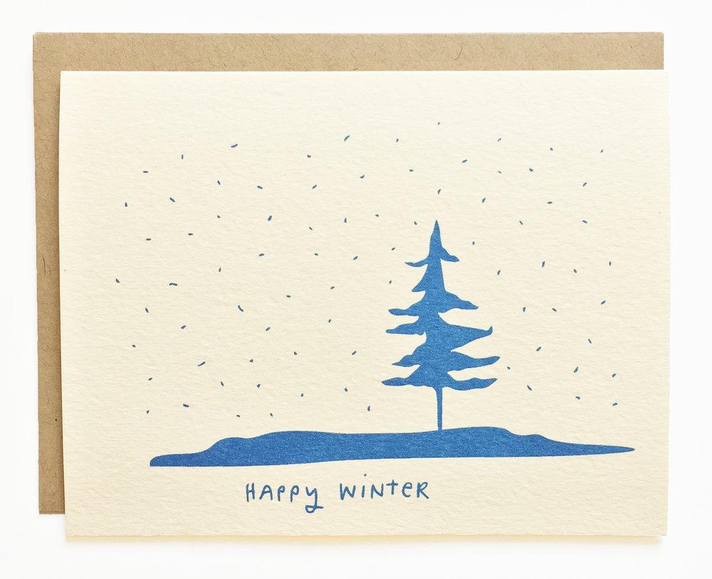 Snowy Landscape - Happy Winter