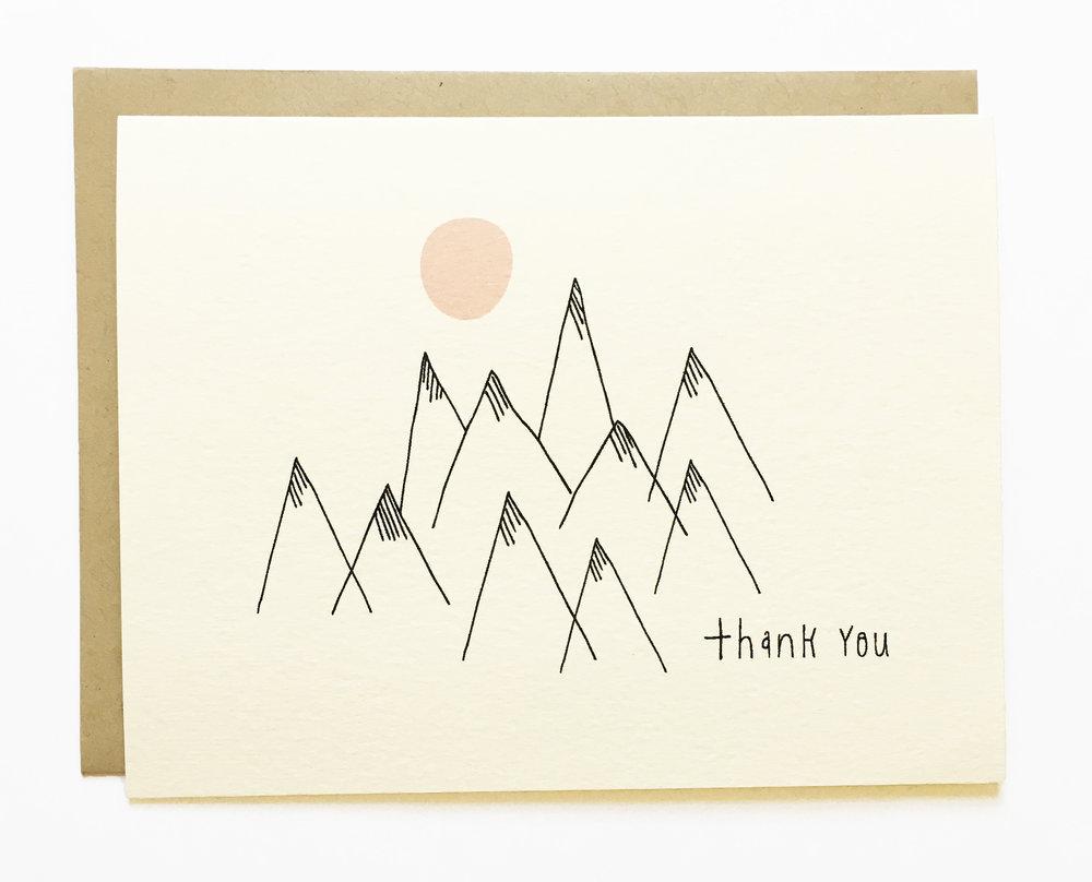 Thank you Mountain