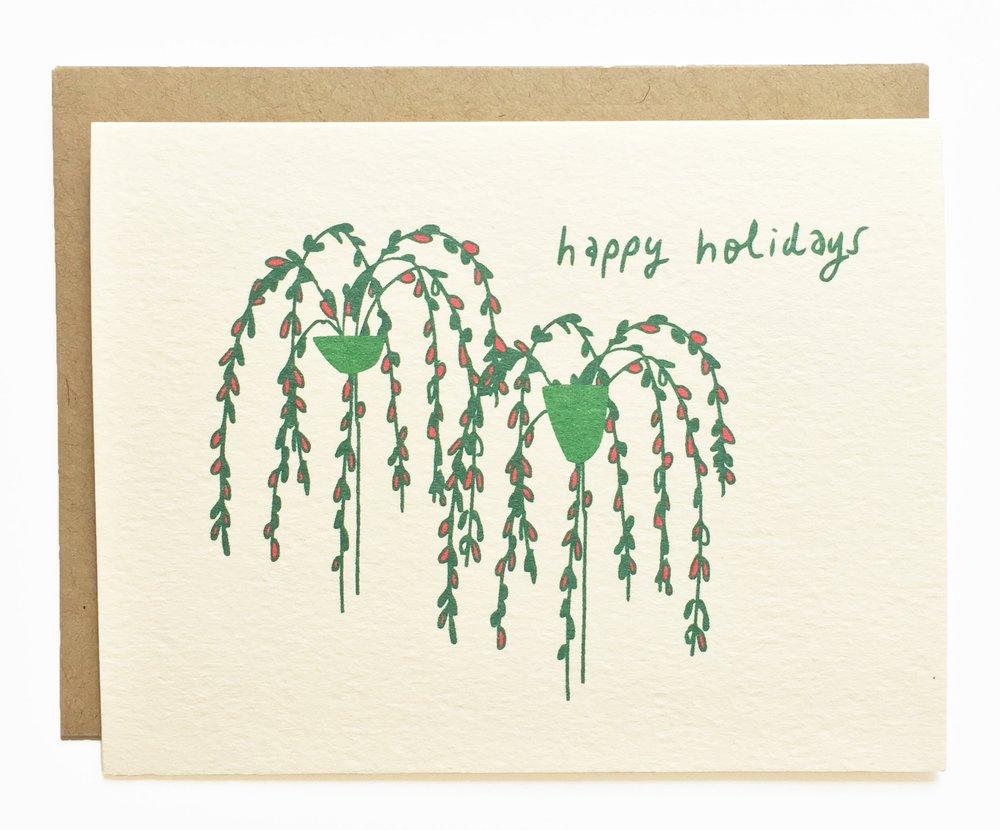 Winter Plants - Happy Holidays