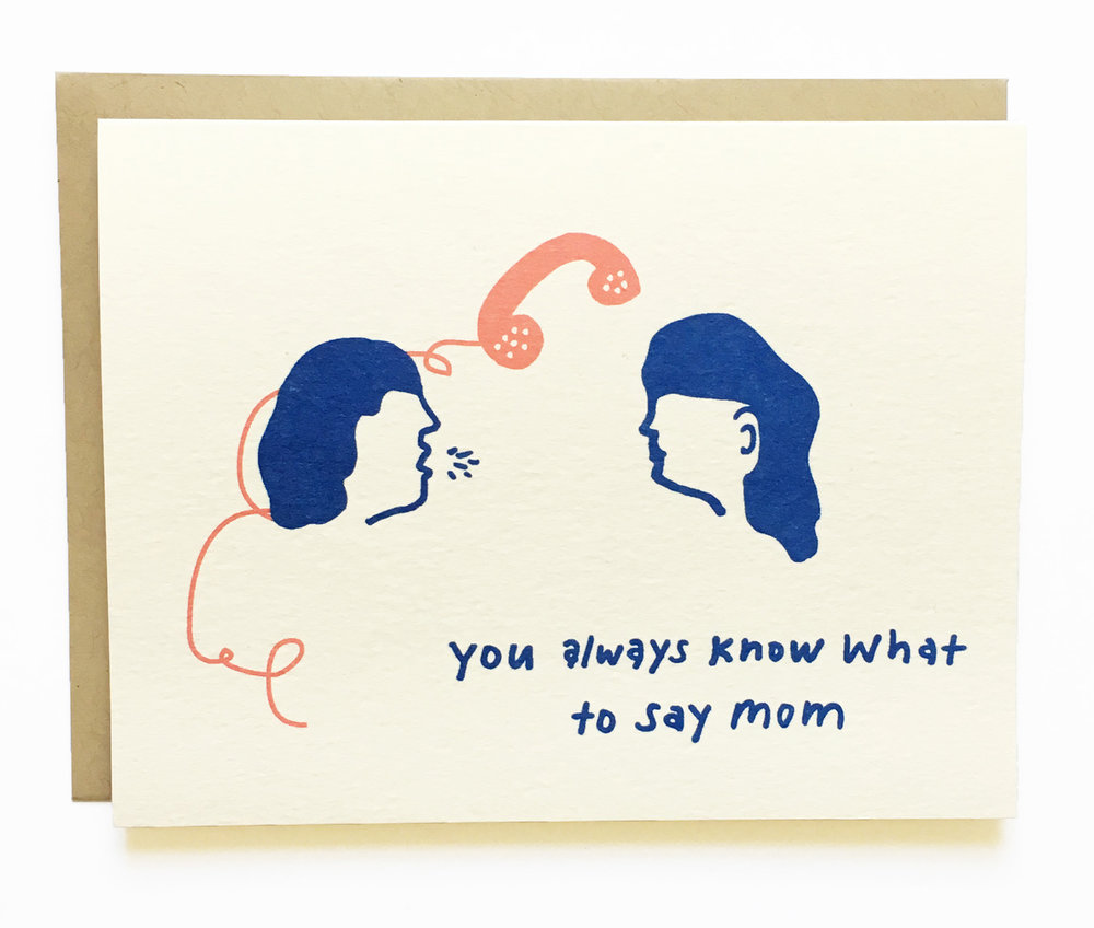 NEW - You Always Know What to Say - Mother's Day