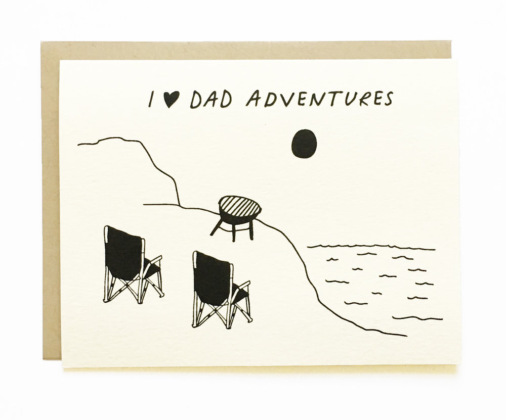 NEW - Dad Adventures - Happy Father's Day