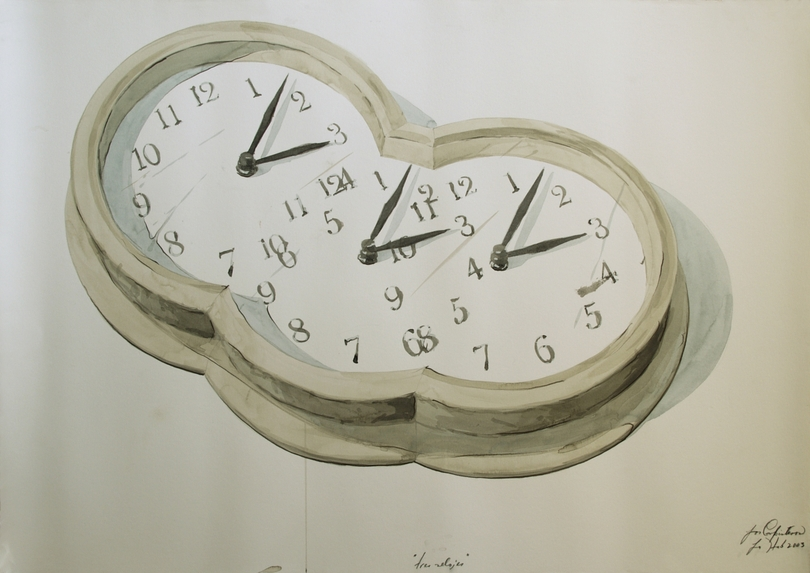 """ Tres relojes"""