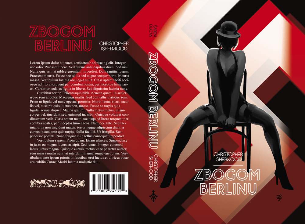 "Christopher Isherwood's ""Goodbye to Berlin"", upon which the movie ""Cabaret"" was based on. Šareni Dućan 2013"