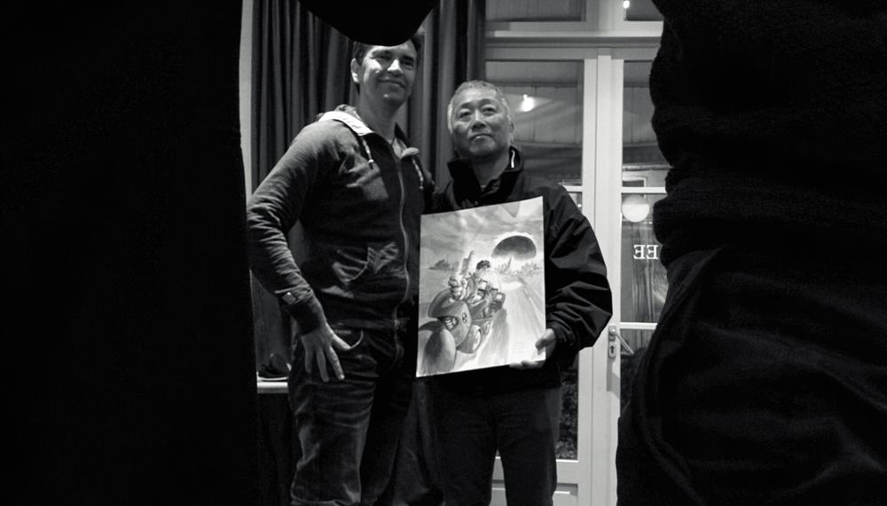 Enrico Marini and Katsuhiro Otomo