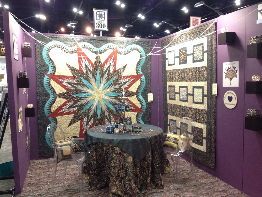 Lumina Feathered Star by Judy Niemeyer, quiltworx.com
