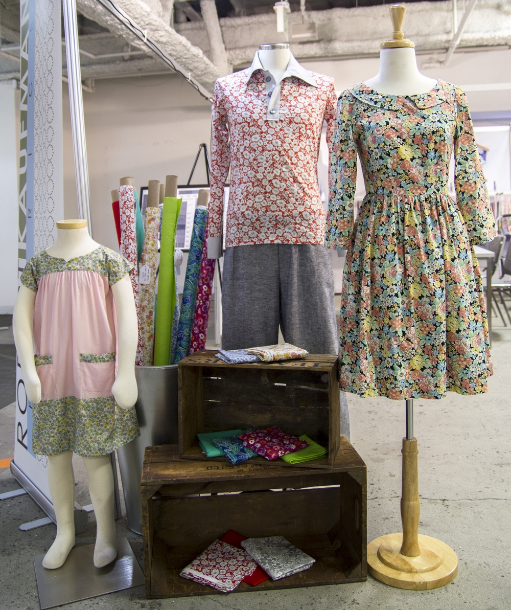 From Left to Right:   ICE CREAM DRESS   BY OLIVER + S (LONDON CALLING AND CAMBRIDGE), VINTAGE BUTTERICK PATTERN (LONDON CALLING AND CAMBRIDGE),   EMERY DRESS   BY CHRISTINE HAYNES (LONDON CALLING).