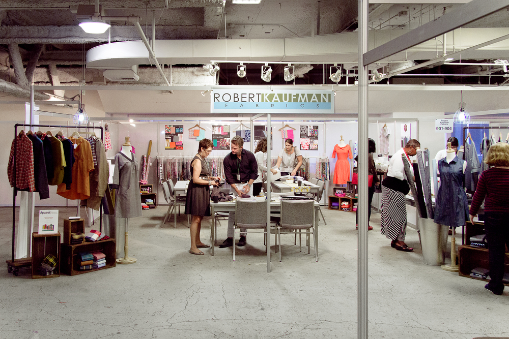 Robert Kaufman Booth overview