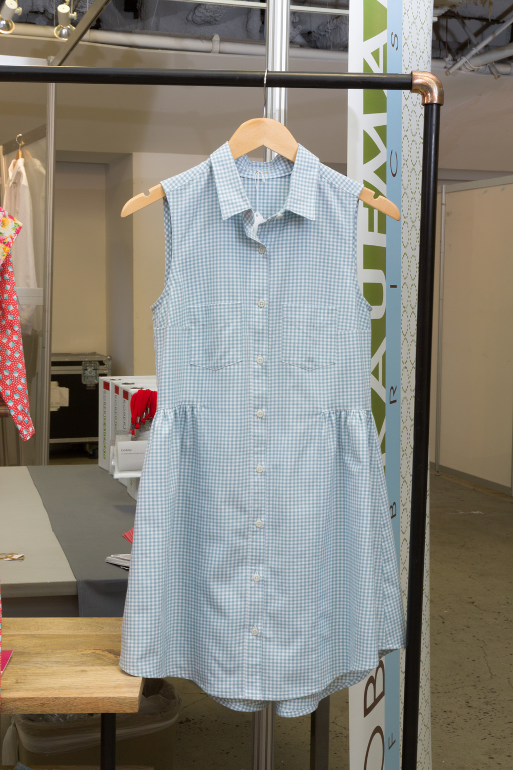 Alder Shirtdress by Grainline Studio, made by Elinor Nissley, featuring Carolina Gingham