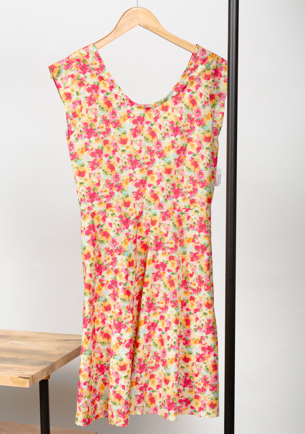 SWEET SUMMERTIME DRESS DESIGNED BY SEW TO GROW, MADE BY RAMONA ROSE,  FEATURING LONDON CALLING