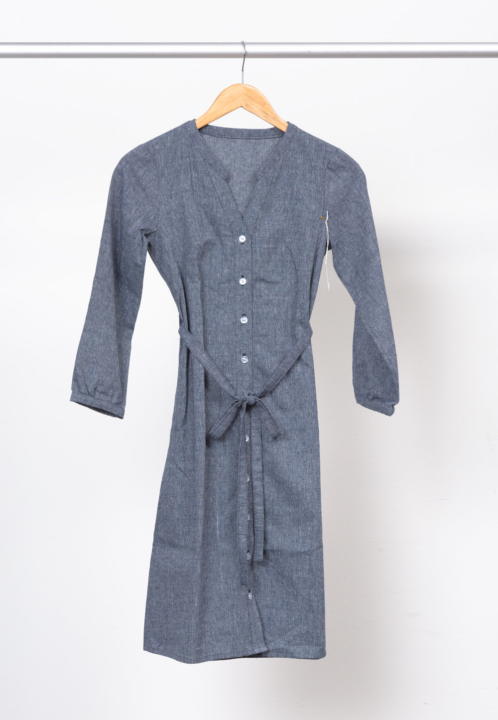 BONN SHIRT DRESS   BY   ITCH TO STITCH  ,   ESSEX YD HOMESPUN