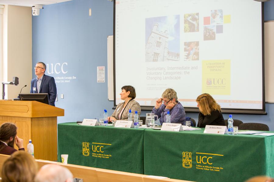 Dr Darius Whelan, Ms Joan Doran, Dr Liz Brosnan, Dr Maria Morgan