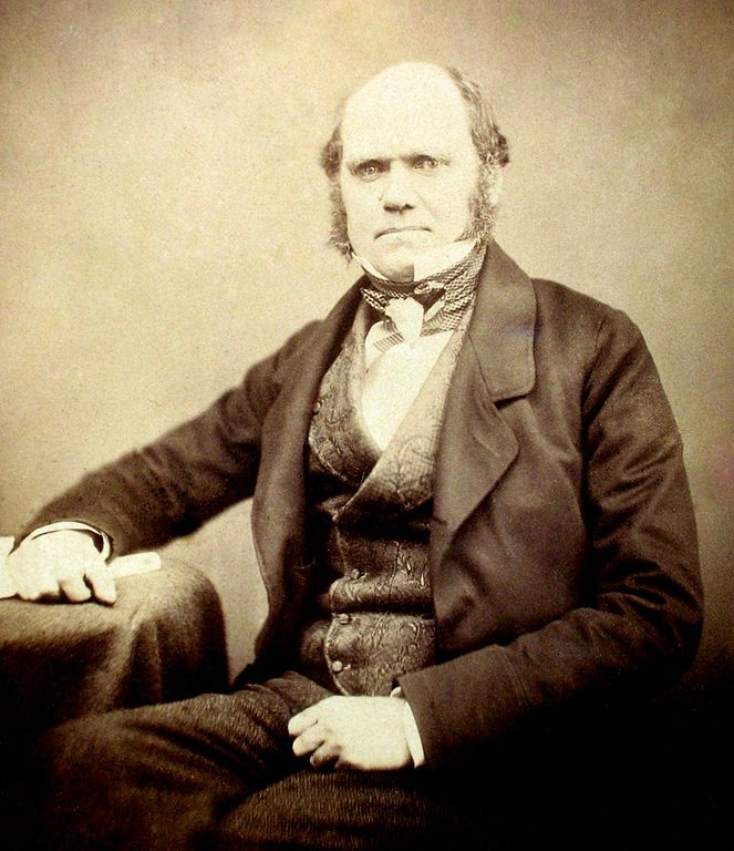 Charles Darwin - Maull and Polyblank for the Literary and Scientific Portrait Club / 1855