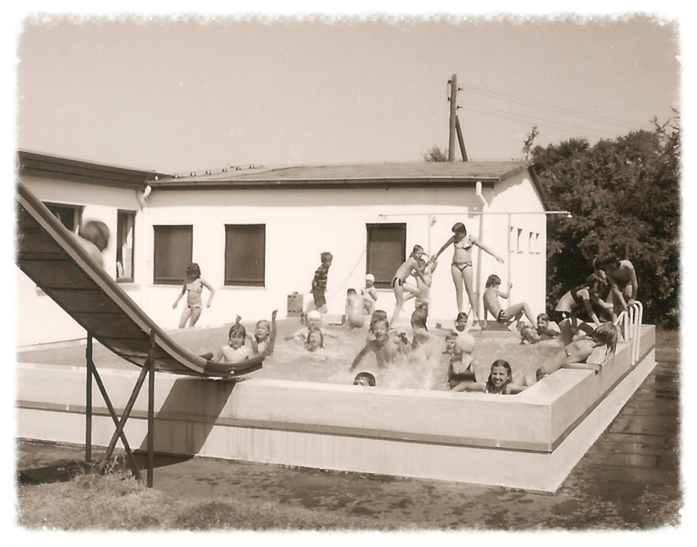 Badespaß am Schullandheim