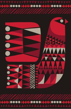 Rug design by Sanna Annukka