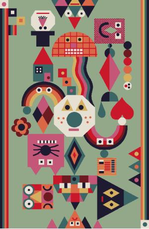 Rug design by Chamo