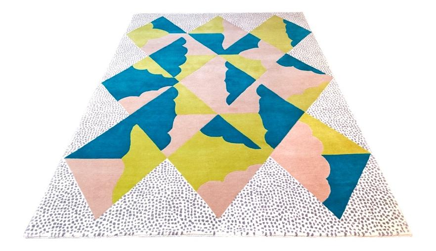 Kangan Arora's handtufted rug for Floor Story