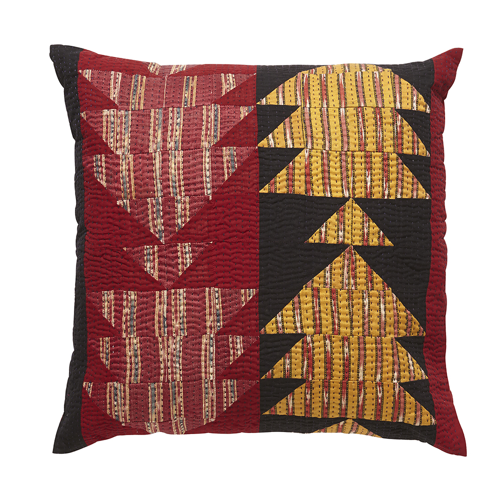 Fish Mashru cushion